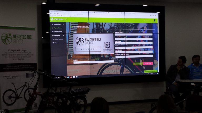 En Marcha registro de bicicletas en Bogotá: iniciativa del Partido MIRA